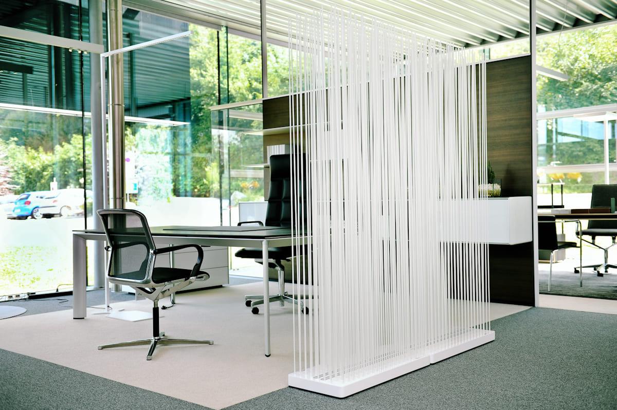 Sichtschutz fürs Büro
