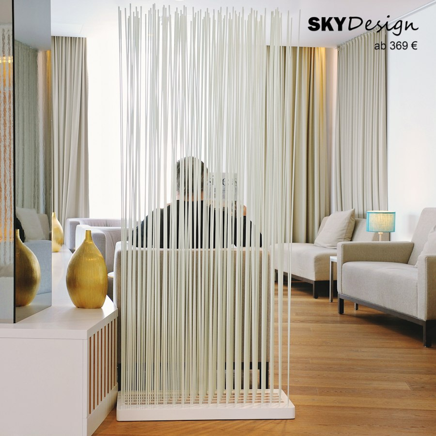Wohnzimmer Raumteiler Weiss Skydesign News