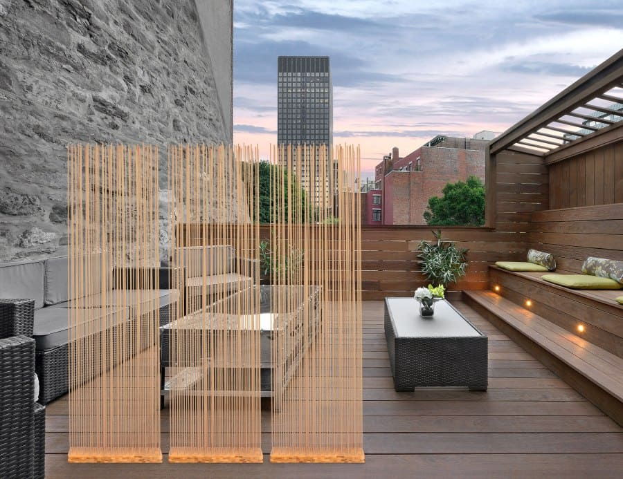 Sichtschutz, Raumteiler und Trennwände für Ihre Terrasse