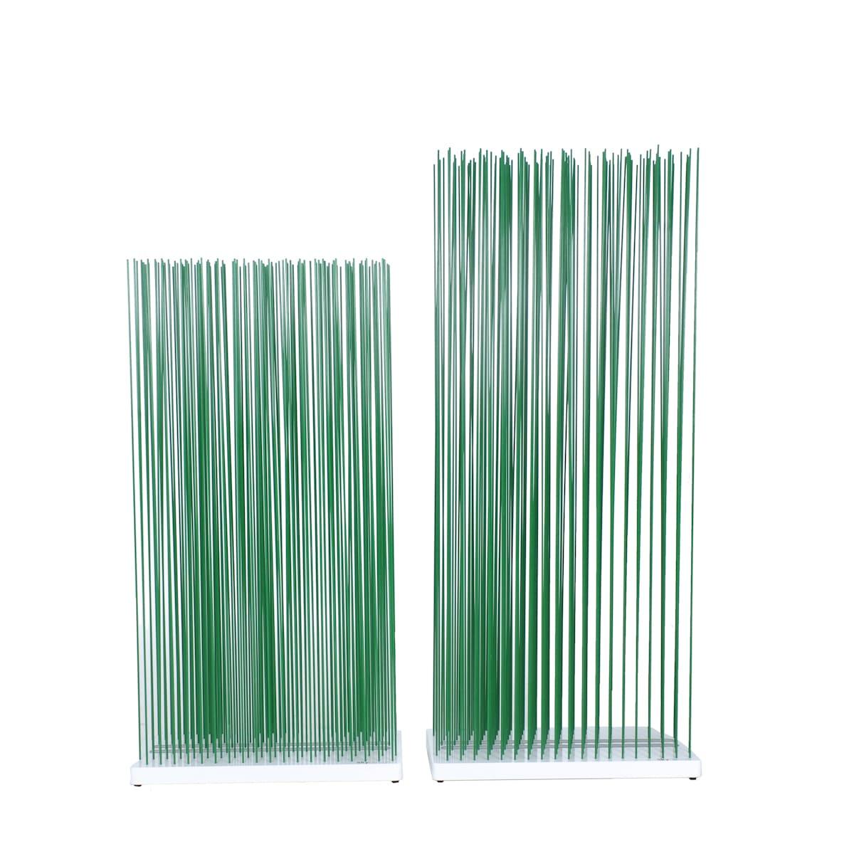 Grüner Sichtschutz Paravent für die Terrasse