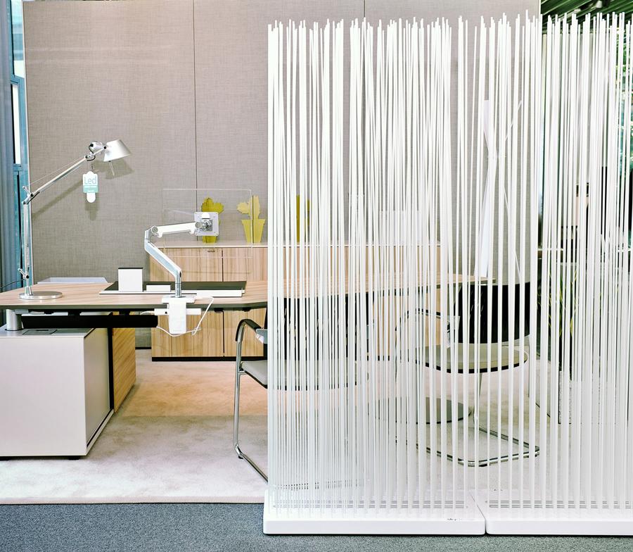 Schreibtisch Sichtschutz Trennwand