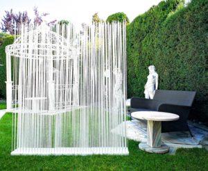 Garten Sichtschutz Paravent Outdoor Garten