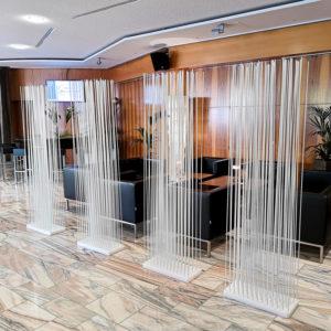 Casino Velden Loungemöbel Sichtschutz