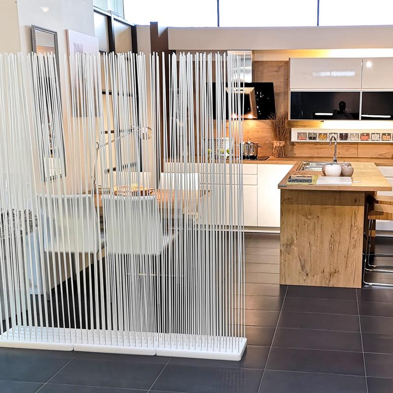 Raumteiler Kuche Wohnzimmer. Hngende Geschnitzte Schirme
