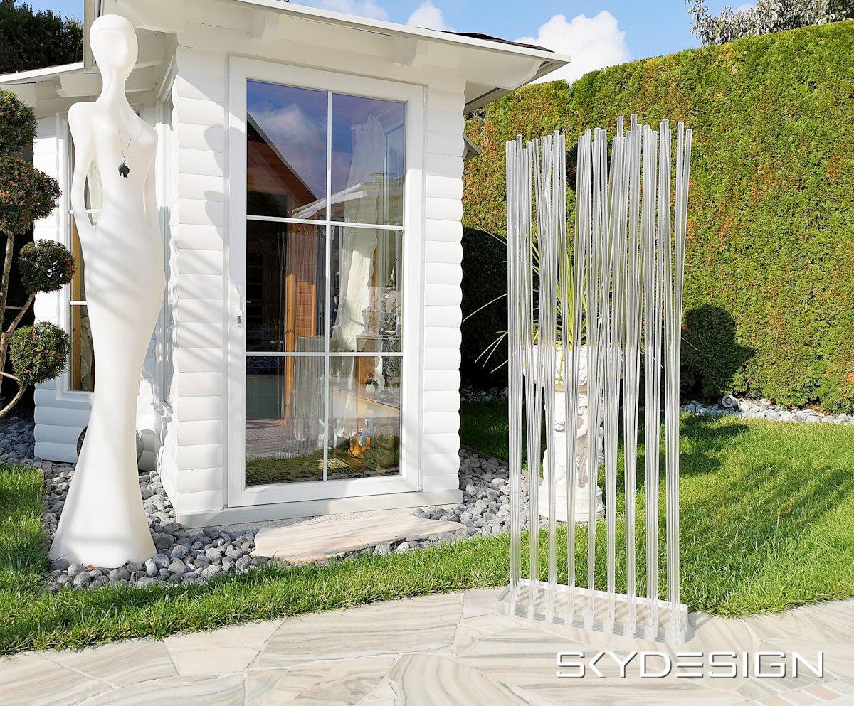 Plexiglas Outdoor Paravent Gastronomie Skydesign News