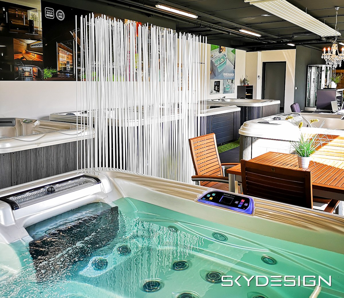 Pool Sichtschutz, Sichtschutz Pool Bambus