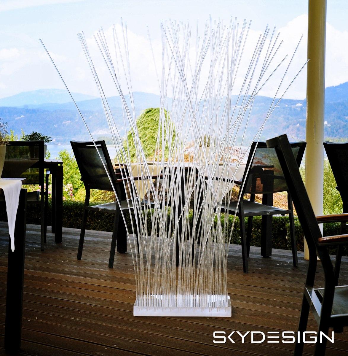 Privacy Glass Plexiglas Partition Skydesign News