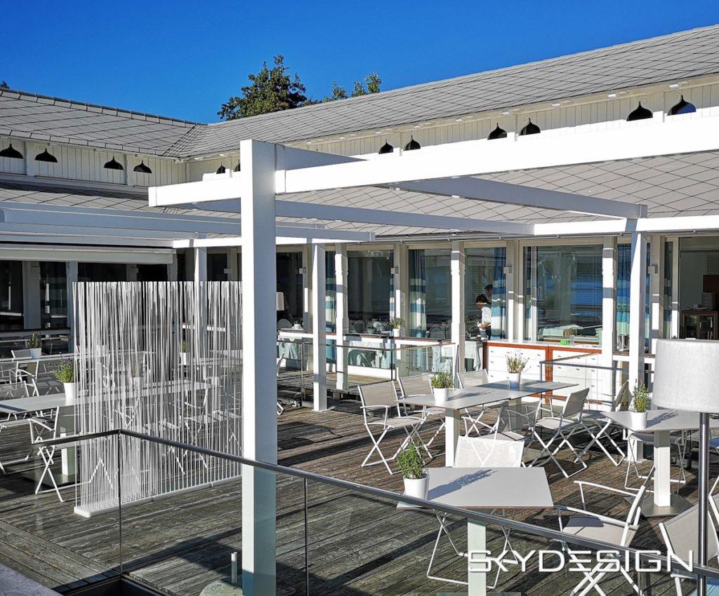 Raumteiler Trennwand Restaurant Terrasse, Balkon, Garten