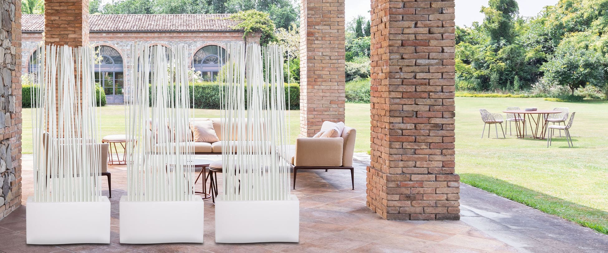 Terrassenabtrennung Sichtschutz Fur Balkon Und Terrasse Raumteiler