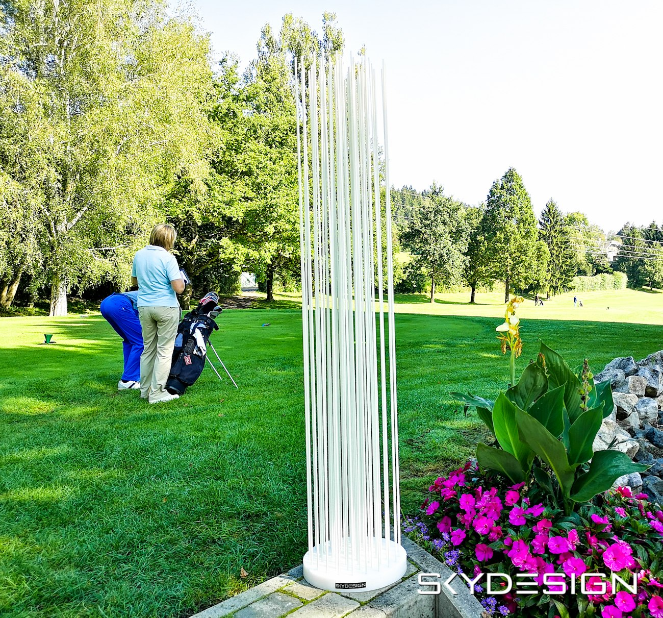 Garten Sichtschutz Terrasse Weiss